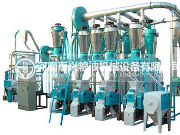 4组面粉机械