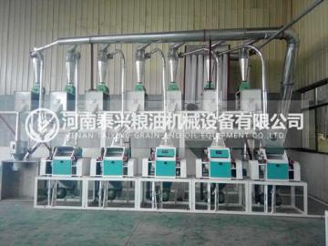 5组面粉机设备
