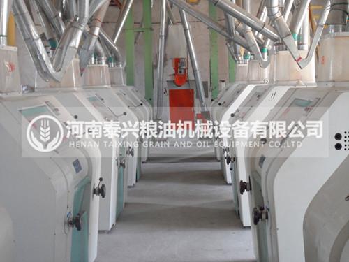 100吨级面粉机械成套设备
