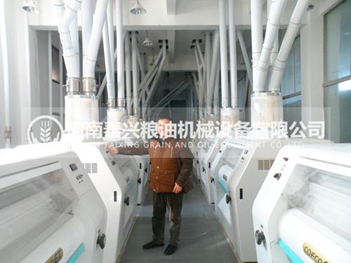 300吨级面粉机