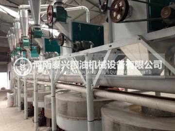 10吨级石磨面粉机组