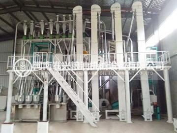 20吨级玉米加工机械
